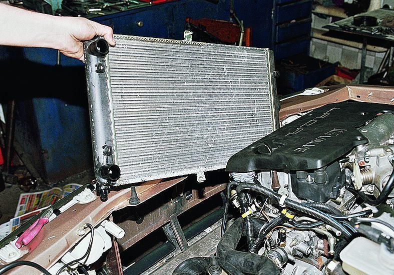 Фото №35 - чистка радиатора ВАЗ 2110